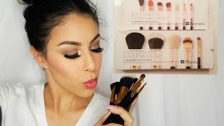 full face tutorial using bh cosmetics brushes