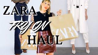 NEW IN ZARA FALL HAUL 2019 | *what's new at ZARA?*