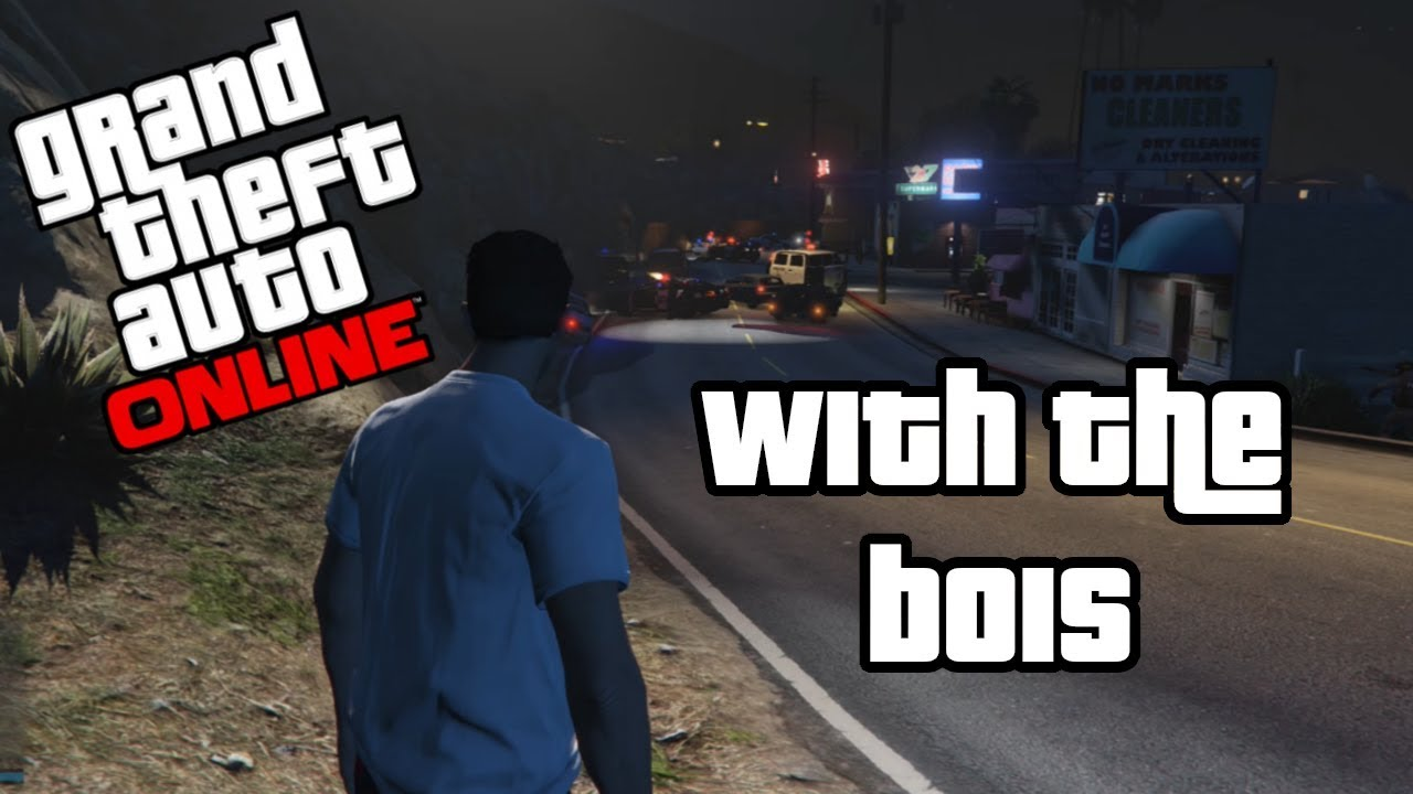 Grand Theft Auto V Online With The Bois Great Gas Station Robberies