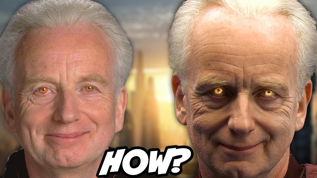 How Palpatine Hid his Sith Eyes From the Jedi - Star Wars Explained