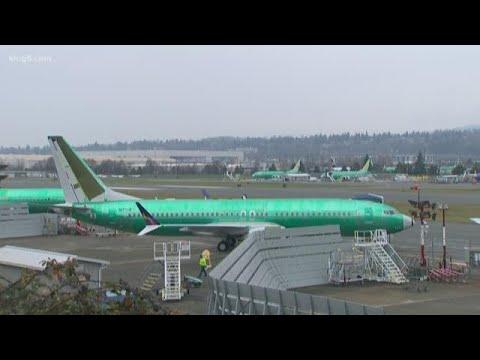 Boeing 737 in