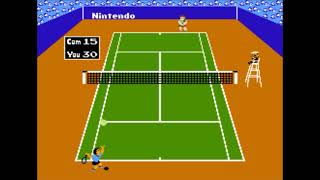 Tennis - NES Gameplay by Francofire
