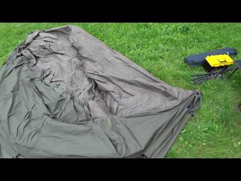 Сборка карповой палатки FOX Retreat XL Euro