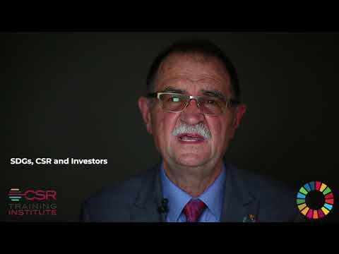 SDGs, CSR and Investors