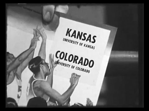 Wilt Chamberlain - 1957 College Basketball Game