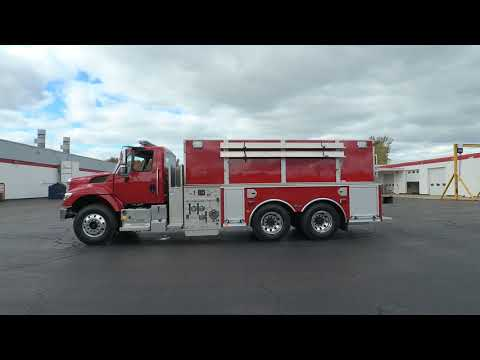 Walk Around of Okarche (OK) Fire Department's New E-ONE Pumper Tanker