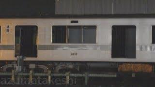 【東京メトロ03系 地方譲渡 8編成目 03-133F 譲渡と思われた中間車解体・・・】先頭車2両のみ 深夜の陸送 別留置の中間車1両は残念ながら解体・・・。