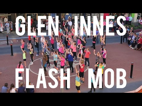 Glen Innes Flash Mob 2015