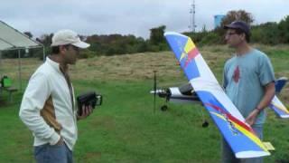 Thunder Tiger Trainer 60 Electric Conversion - maiden flight
