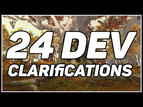 24 WoW: Legion Clarifications From the Developers