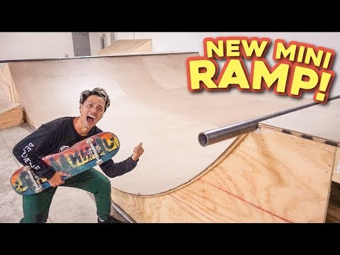 SHREDQUARTERS NEW RAMPS ARE INCREDIBLE!!!