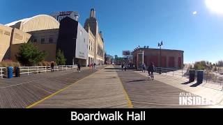 A Tour of the Atlantic City Boardwalk