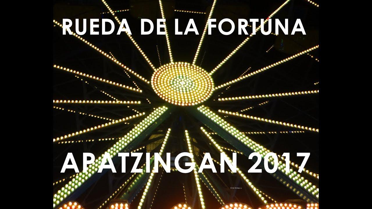 Rueda de la fortuna Apatzingan 2017 | Fiestas Octubrinas - YouTube