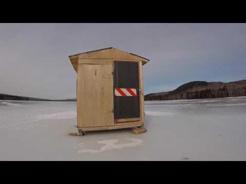 West Musquash Ice Fishing Shack