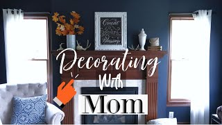 DECORATING MOM'S HOUSE FOR FALL! | 2018 FALL HOME TOUR
