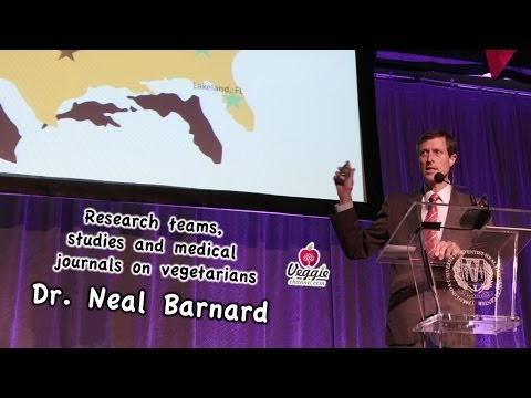 Dr. Neal Barnard - Research teams, studies and medical journals on vegetarians