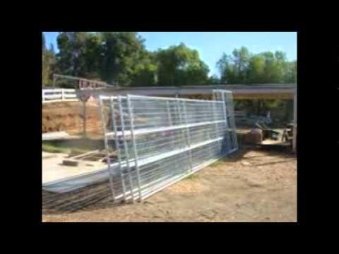 Welded Wire Kennel - YouTube
