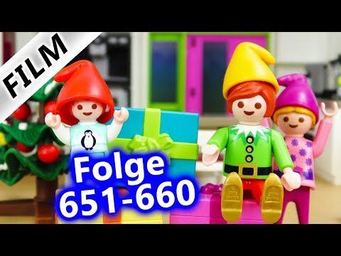 Playmobil Filme Familie Vogel: Folge 651-660   Kinderserie   Videosammlung Compilation Deutsch