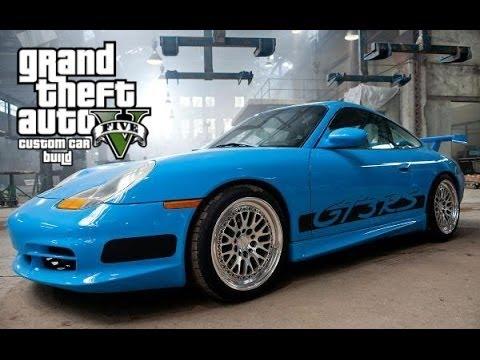 GTA 5 ONLINE | FAST & FURIOUS 5 PORSCHE 911 GT3 RS CUSTOM CAR BUILD
