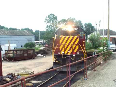 Southwestern Pennsylvania Railroad Parking at the Scottdale Depot August 1, 2016