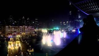 Dubai Fountain: zenélő szökőkút - Michael Jackson Thriller 4K GoPro