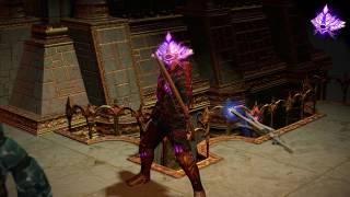 Path of Exile: Purple Divine Sign