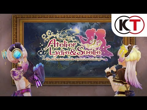 Atelier Lydie & Suelle: The Alchemists and the Mysterious Paintings - Announcement trailer