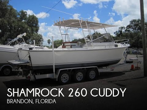 [UNAVAILABLE] Used 1984 Shamrock 260 Cuddy in Brandon, Florida