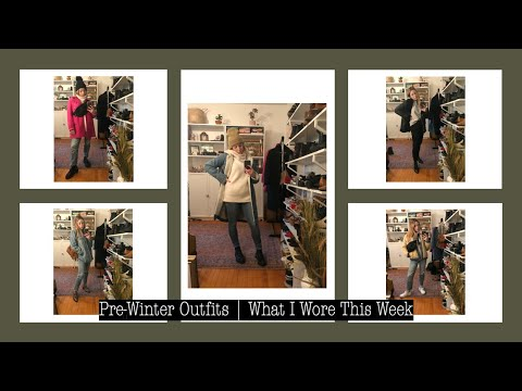 [VIDEO] - Pre-Winter Outfits| What I Wore This Week | Petite Style | Layla Lane 7