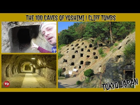 The 100 CAVES Of YOSHIMI | Cliff Tombs In Japan