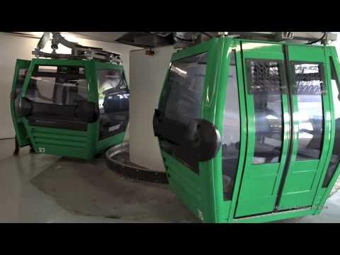 Teleférico de Santiago  - Cable Cars in Santiago, Chile