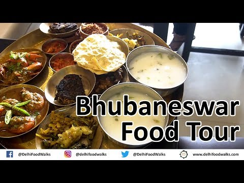 Bhubaneswar Street Food Tour | Odisha Food Walks I Indian Street Food