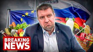 Почему в России продукты дорожают в 8 раз быстрее чем в Европе Дмитрий Потапенко