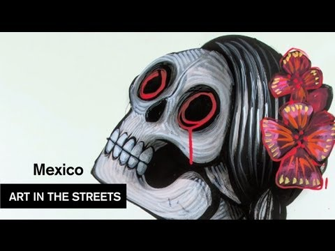 Global Street Art - Mexico City - Saner MXDF - MOCAtv