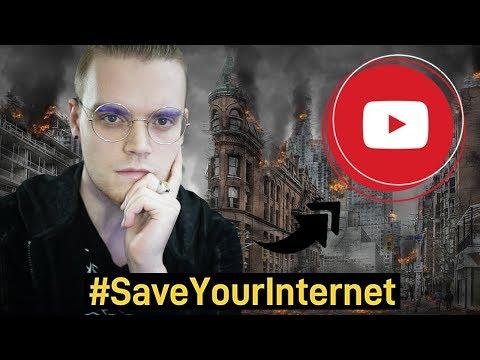 YOUTUBE GEHT 2019 UNTER! | #SaveYourInternet