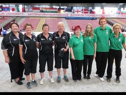 Women's World Petanque Championship 2015 - NZ vs Hungary