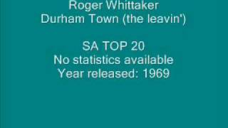 Roger Whittaker - Durham Town (the leavin