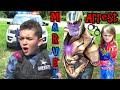Can CAPTAIN MARVEL DEFEAT THANOS??! Cop Kids CRAZY Backup Arrest Plan....