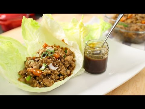Chicken Lettuce Wrap Recipe - Pai's Kitchen