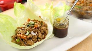 Chicken Lettuce Wrap Recipe - Pai's Kitchen