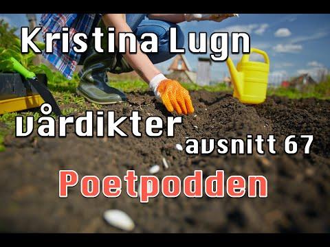 Kristina Lugn och vårdikter trailer för avsnitt 67 i Poetpodden