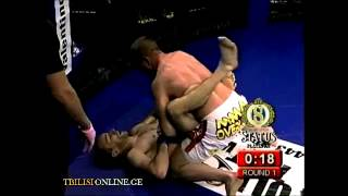 Vaja Ioramashvili submission - MMA
