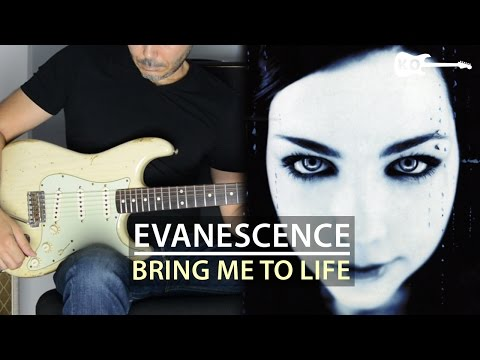 Evanescence - Bring Me To Life - Electric Guitar Cover by Kfir Ochaion