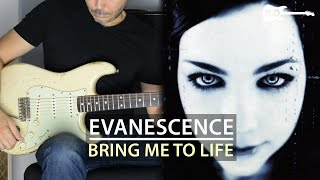 Download Mp3 Evanescence - Bring Me To Life - Electric Guitar Cover By Kfir Ochaion