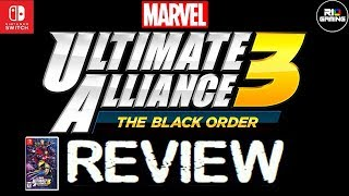 Marvel Ultimate Alliance 3 The Black Order Review Nintendo Switch