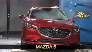 Mazda 6 Crash Test Euro NCAP | October 2018 Ratings