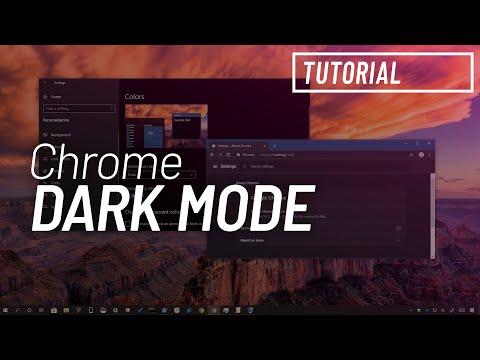 How to enable dark mode for Google Chrome on Windows 10
