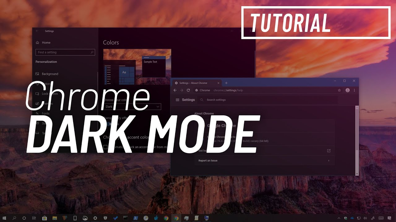 How to enable dark mode for Google Chrome on Windows 10