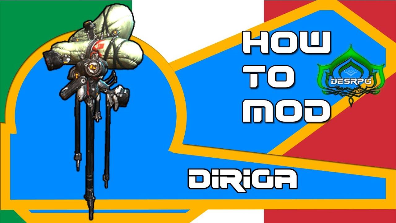warframe how to get diriga