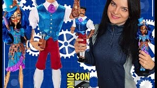 Monster High Robecca Steam and Hexiciah Steam SDCC Comic Con 2016 обзор на русском